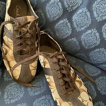 Womans Coach Sneakers Size 9 Photo