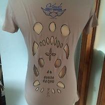 Womans Distressed Graphic T Photo