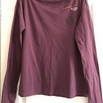 Womans Dkny Cotton Long Sleeve T Shirt Top Size S Photo