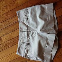 Womans Express Design Studio Size 2 Khaki Shorts-Very Nice Photo