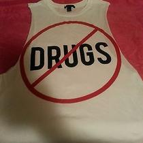 Womans Forever 21 Tank Top Say No to Drugs  Photo