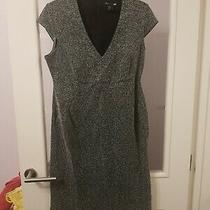 Womans Grey Tweed Style Maternity Dress by Mama h&m Size M (10/12) Photo