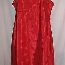 Womans Red Nightie by Valerie Stevens Size Large Photo