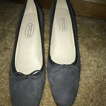 Womans Size 8 N  Blue Talbots Suede Kitten Heel Pumps Heels  Nwob Photo
