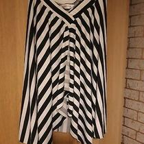 Womans Trashed Topshop Size 12 Stripe Skirt Photo