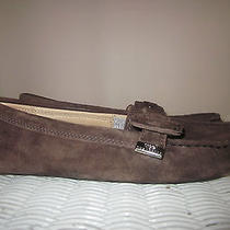 Womans Ugg Australia Buckle Moccasins Size 8 Photo