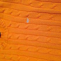Womans Vineyard Vines Cable Knit Sweater Size M Photo