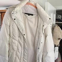 Womans White Winter Jacket  Photo
