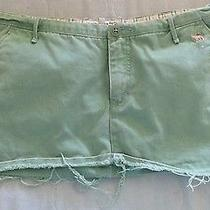 Women 100% Cotton Abercrombie Jeans Short Skirt Size 8 Photo