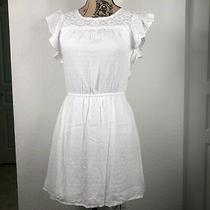 Women Aeropostale White Dress Size Xs Vestido De Mujer Blanco Casual Photo
