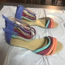 Women Aldo Strapped Sandals Size 5 Used Photo