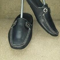 Women Bally Mule/slippers Size 7-7.5 Black  Shoes Super Condition Photo