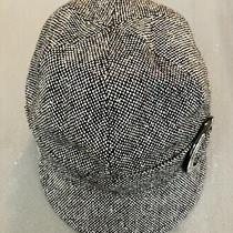 Women Bcbg Maxazria S/m Newsboy Hat Cap Brown Photo