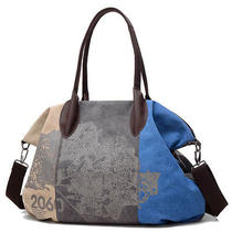 Women Canvas Bag Messenger Shoulder Bags Vintage Casual Tote Handbags Hobo Bag Photo