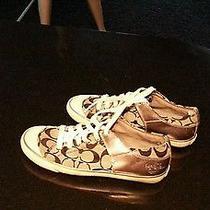 Women Coach Shoes Size 7b Photo