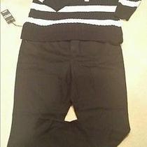 Women Dkny Skinny Jean Set 20w and 3x Charter Club Sweater Blk and Beige  Photo