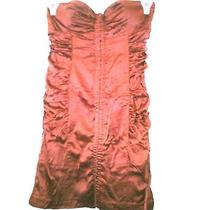 Women Dress  by Guess Size S Small Nice Red Satin Photo