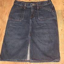 Women Express Denim Jean Skirt Size 1/2 Photo