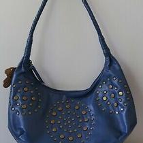 Women Fashion Bag Leather Handbag Shoulder Hobo New Blue Small Blue Photo