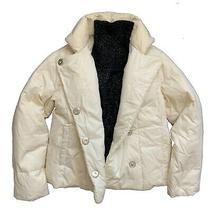 Women Gap Down Jacket Puffer White Color. Size S Photo