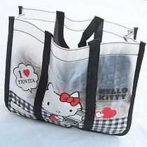 Women Girls Kids Hello Kitty Travel Beach Waterproof Swim Carry Tote Lunch Bag Photo