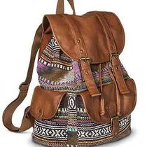 Women Girls School Student Hiking Camping Backpack Book Messenger Bag Sale New Photo