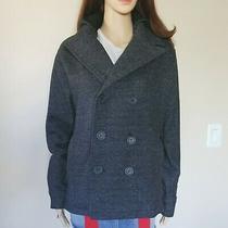 Women Hurley Pea Coat/jacket Charcoal Gray/black Hoodie Photo