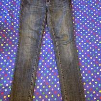 Women Jr American Eagle Skinny Stretch Jeans Size 2 Nice  Photo