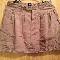 Women Junior Size 1 Gap Skirt Brown Photo