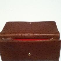 Women Mothers Day Dooney & Bourke Embossed Ostrich Leather Large Clutch Wallet Photo