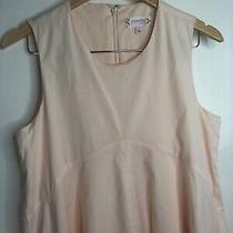 Women Nanette Lepore Ballet Slipper Pale Pink Blush Eyelet Dress 8 Msrp 139 Photo