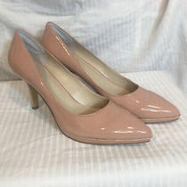 Women Nine West Heels  10.5m Blush Pink Gently Used Photo