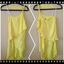 Women One Shoulder Top - Yellow - Small - Sexy and Fun  Photo