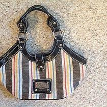 Women Purse Guess Stripe Handbag Great for Summer Others Photo