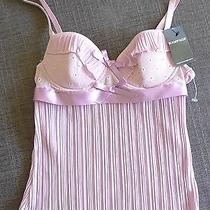 Women Rampage Lingerie Embroidery Closet 32b Nwt Ruffle Photo