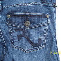 Women Rock & Republic Jeans Size 2  Waist Measurements With Tape Approx 31