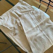 Women's 100% Linen Pants - Size (16p) 34