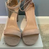 Womens a New Day Ema Open Toe Heel Blush 9 1/2 W Photo
