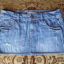 Women's Abercrombie Destroyed Jean Skirt Size 14 28