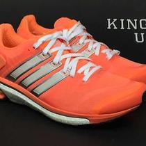 Women's Adidas Adistar Boost  Running Shoes Glow Orange Size 7.5 Photo
