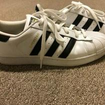 Women's Adidas Superstar Sneakers Sz 8-Worn 3 Times Photo