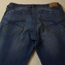 Women's Aeropostale Blue Jeans Skinny Stretch Size 4 Reg Euc Photo