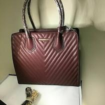 Women's Aldo Burgundy Oakridge Satchel Photo