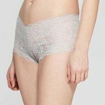 Women's All Over Lace Cheeky Undies Panties Auden Gray Size Small New Sexy Photo