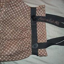 Women's American Eagle Brown Polka Dot Purse Photo