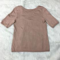 Women's Ann Taylor New Short Sleeve Sweater Blush Size Small Nwt Photo