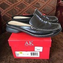 Women's Anne Klein Black Shoes Mules Size 6 Photo