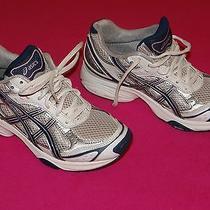 Womens Asics Gel Express Pink Black Silver Running Shoes Size Us 6.5 Eur 37.5 Photo