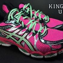 Women's Asics Gel-Nimbus 16 Athletic Running Shoes Hot Pink Size 9 Photo