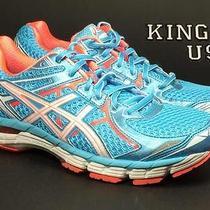 Women's Asics Gt-2000 2 Running Shoes Blue Melon Size 9 Photo